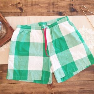 Chubbies 100 Cotton Original Gingham Swim Trunks